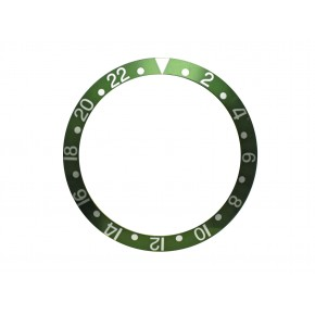 New High Quality Green Bezel Insert For Rolex GMT Master I/II  & Submariner Watch