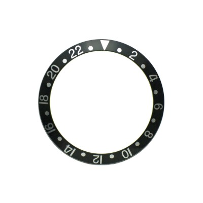 New High Quality Black Bezel Insert For Rolex GMT Master I/II  & Submariner Watch