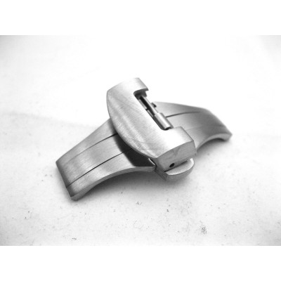20MM Deployment Stainless Steel Push Button Clasp Buckle For Panerai Style Watch Strap
