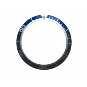 High Quality Blue Bezel Insert to Fit Omega Planet Ocean Watch