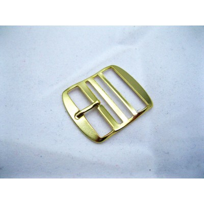 Perlon Golden Polished Buckle