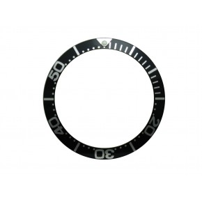High Quality Black Bezel Insert to Fit Omega Seamaster James Bond Watch