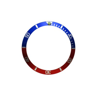 New High Quality Blue & Red Aluminum Bezel Insert For Rolex Submariner & GMT