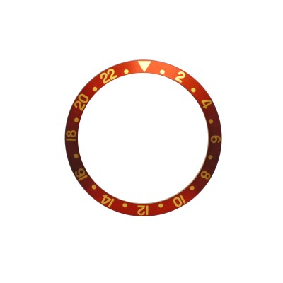 New High Quality Brown Bezel Insert For Rolex GMT Master I/II  & Submariner Watch