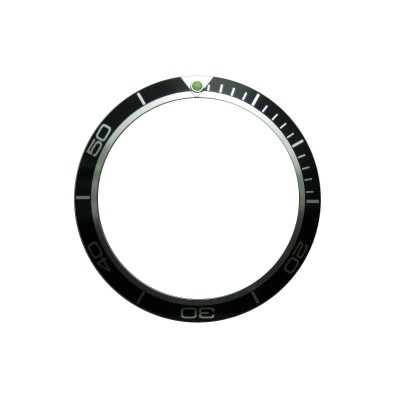 High Quality Black Bezel Insert to Fit Omega Planet Ocean Watch