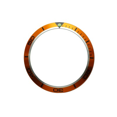 High Quality Orange Bezel Insert to Fit Omega Planet Ocean Watch